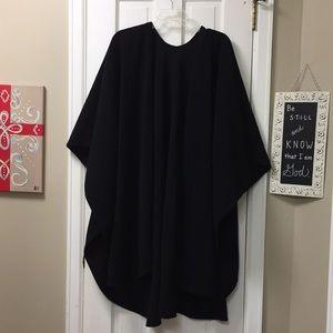 Jackets & Blazers - Boutique fleece shawl poncho cozy shoulder cover
